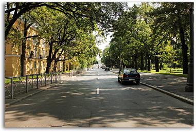 г. Пушкин, ул. Широкая